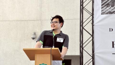 DLSAA President Dr. Derrick Yu